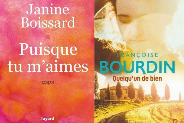 Janine Boissard et Françoise Bourdin : toujours aussi populaires,