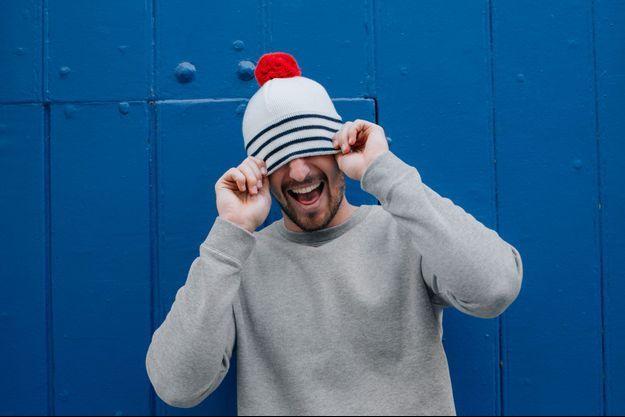 Le bonnet Jean Paul Gaultier x Le Slip Français pour le Téléthon.