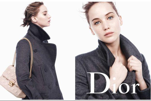 Jennifer Lawrence dans la nouvelle campagne Miss Dior.
