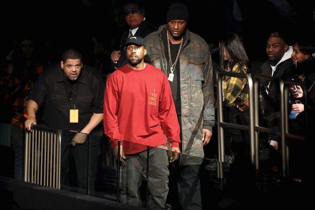 Kanye West à la Yeezy Season 3 en février dernier