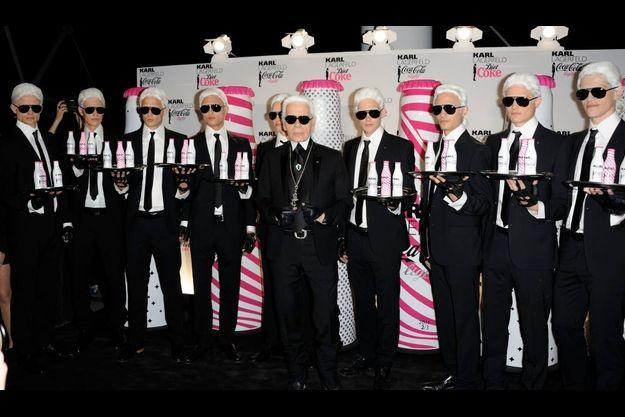La soirée de lancement Coca Cola Light By Karl Lagerfeld, le 7 avril dernier