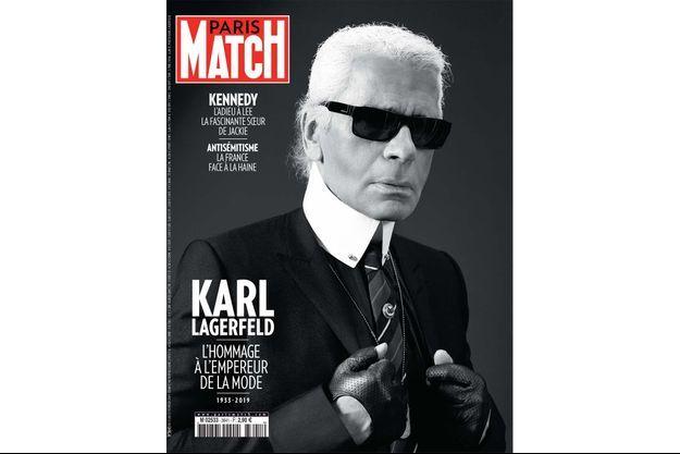 La couverture du numéro 3641 de Paris Match.