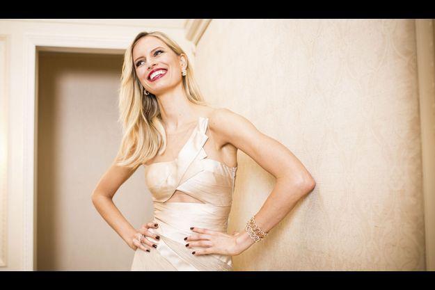 Le 29 octobre 2012, au Regent Hotel de Berlin, où Karolina en marraine de l'événement est venue remettre le prix Montblanc, qui récompense un artiste du domaine musical, parée des bijoux de la marque.