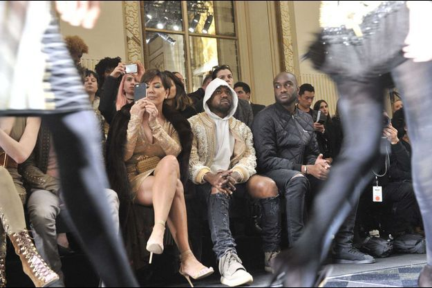 Kris Jenner, Kanye West, Virgil Abloh
