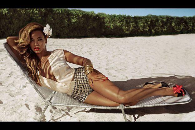 Beyoncé pose pour H&M.