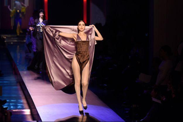 Fashion Week Paris, 2016. Le défilé Runway de Jean Paul Gaultier.