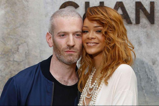 Mel Ottenberg et Rihanna à la présentation de la collection Haute Couture Automne-Hiver 2013-2014 de Chanel en juillet dernier.