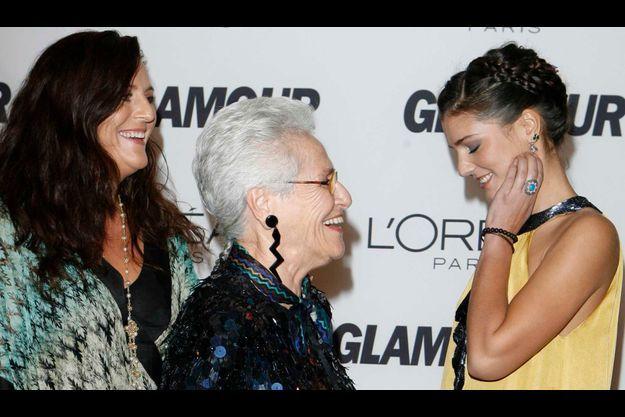 Angela, Rosita et Margherita, trois générations de Missoni.