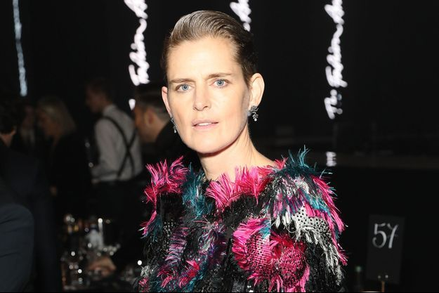 Stella Tennant lors des Fashion Awards à Londres en décembre 2019