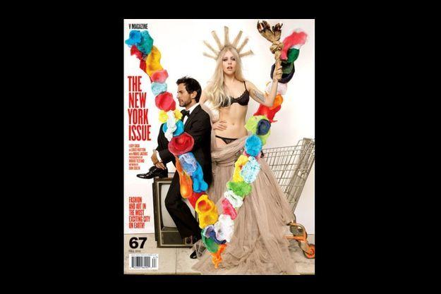 Lady Gaga et Marc Jacobs posent en Une de V Magazine.