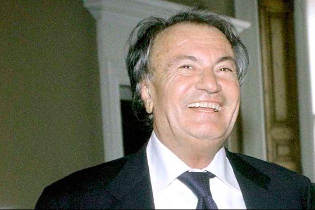 Sergio Rossi en 2002.