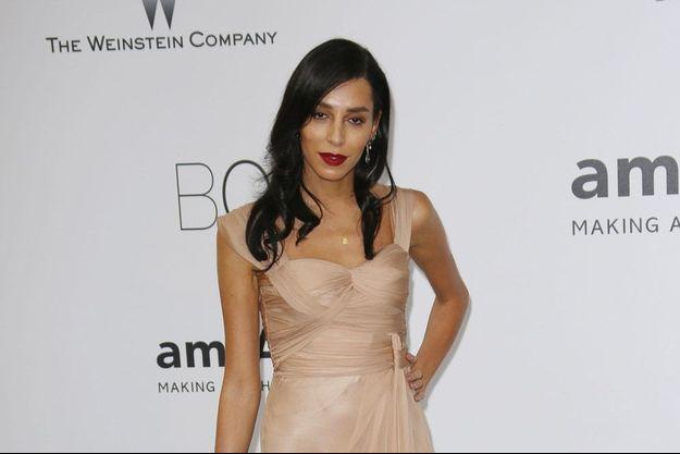 Lea T, le mannequin transgenre, vraie it-girl au gala de l'Amfar en mai 2014 en marge du festival de Cannes