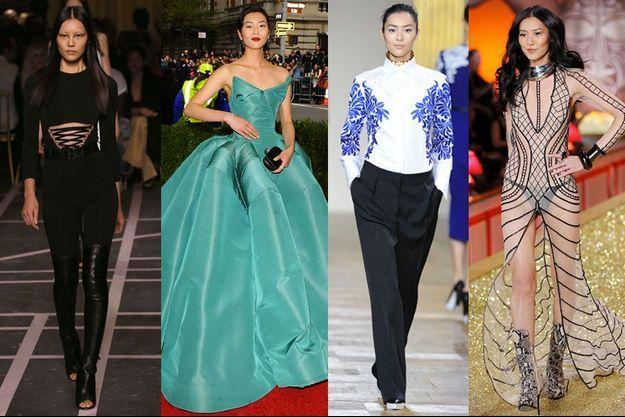 Liu Wen, 26 ans, fait partie des top-modèles les mieux payés du monde