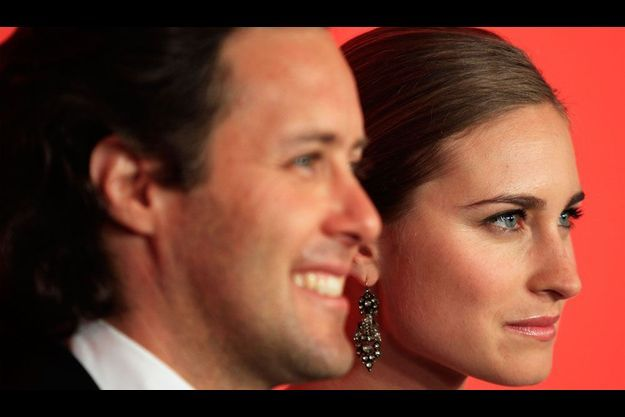 Lauren Bush et David Lauren.