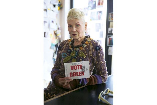 vivienne Westwood, créatrice militante.
