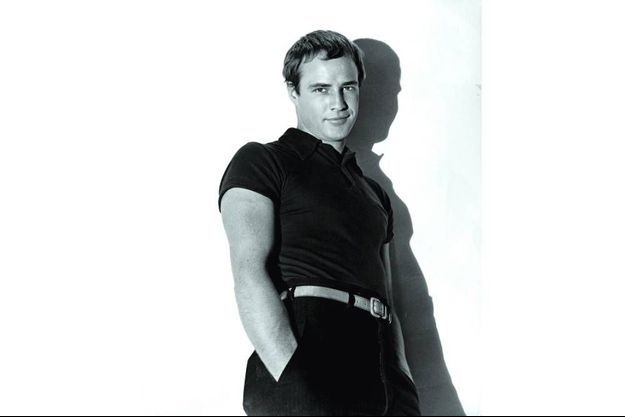 """Marlon Brando en 1953, l'année de """"L'équipée sauvage""""."""