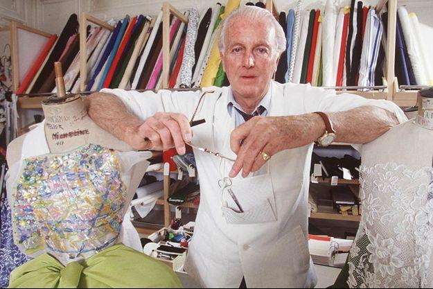 Hubert de Givenchy en 1992.