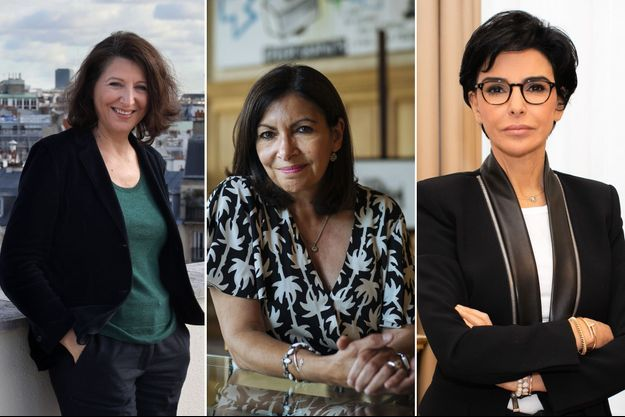 Agnès Buzyn, Anne Hidalgo et Rachida Dati (montage)