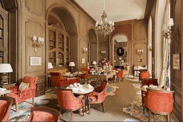 Le salon Proust du Ritz
