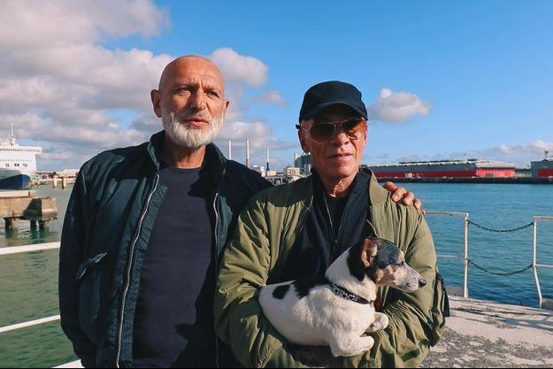 Gilles et Pierre, dans le documentaire diffusé sur France 5.