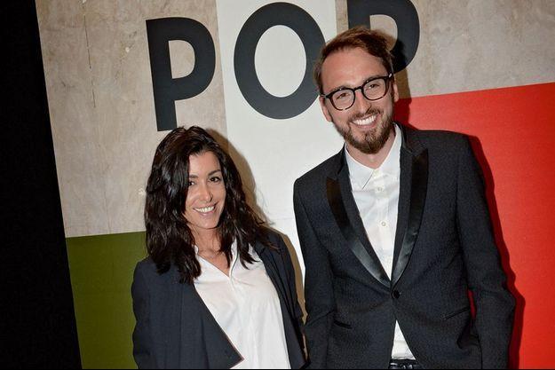 Jenifer et Christophe Willem avaient répondu présents pour la soirée de lancement de la collection Pop de Lancel.