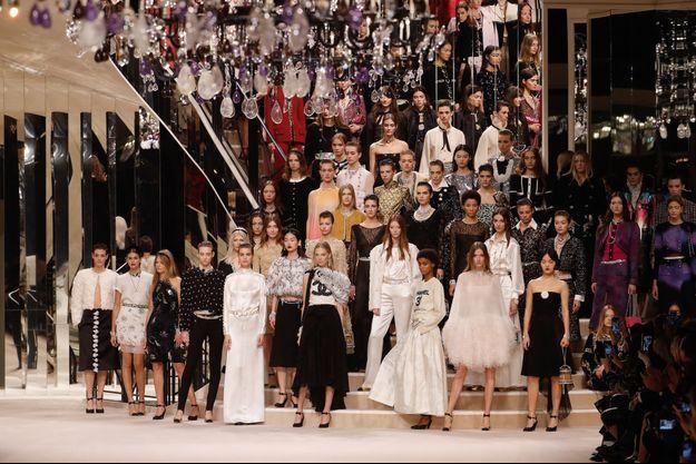 Défilé Chanel en décembre 2019 au Grand Palais.