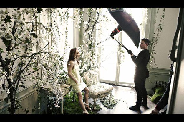 Vanessa Paradis pose pour H&M.