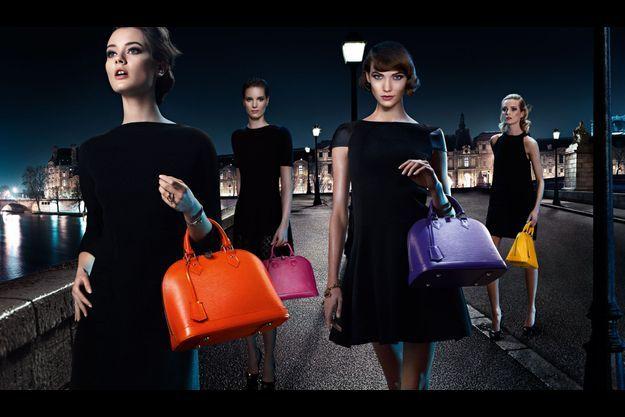 La dernière campagne des sac Alma pour Vuitton.