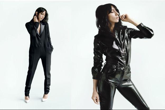Deux modèles de la collection Wanda Nylon et La Redoute, disponible mi-juin