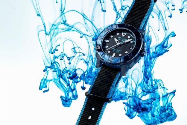 Deux nouvelles séries limitées de sa montre écoresponsable, la Seastrong Diver Gyre Automatic.