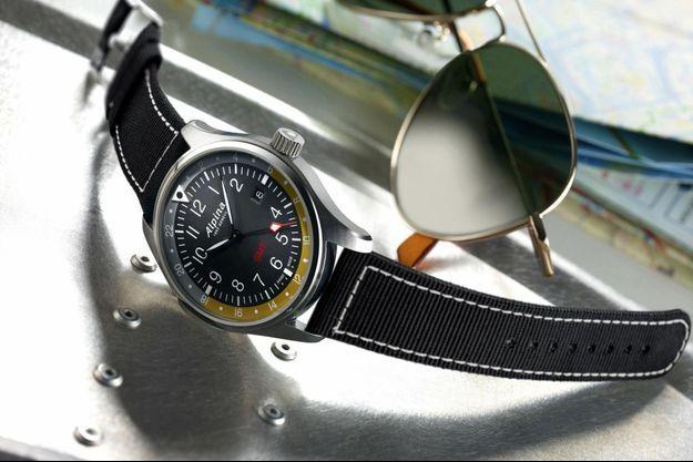L' Alpina Startimer Pilot GMT