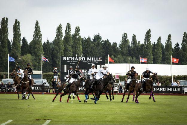 Le polo s'est imposé à Richard Mille dans le cadre de sa politique de communication