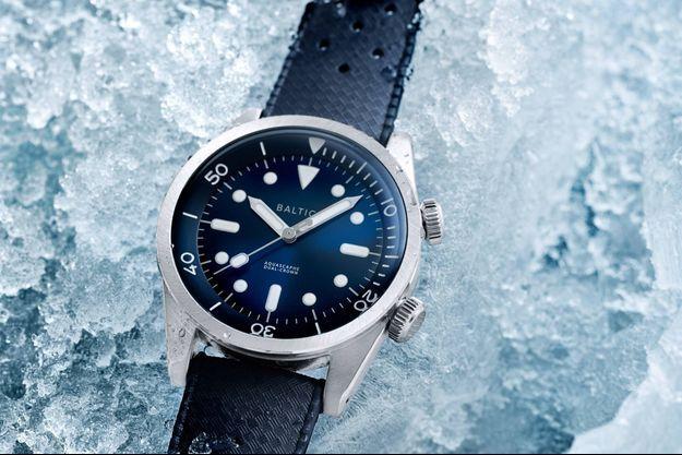 Baltic présente de nouvelles montres de plongée