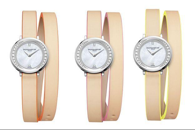 Baume & Mercier : des montres nude pour l'été
