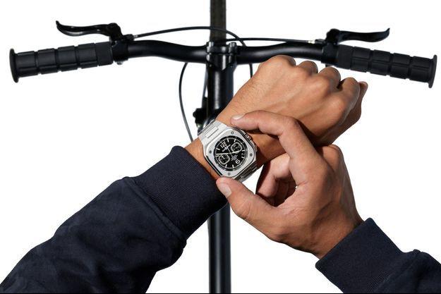 La manufacture Bell & Ross crée la surprise en dévoilant son nouveau chronographe BR 05.