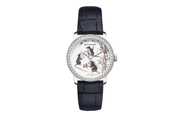 Pour l'année chinoise du Rat, Blancpain dévoile sa première montre avec un cadran en porcelaine entièrement réalisé à la main dans ses ateliers Métiers d'Art.