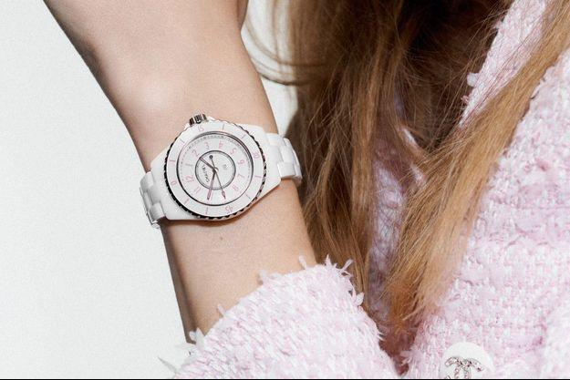 La J12 Pink Blush de Chanel.