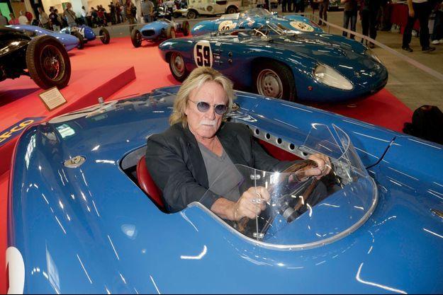 Christophe est un habitué du Salon Automédon. Ici, lors de l'édition 2014, au volant du DB Le Mans, vainqueur des 24 Heures du Mans 1954 à l'indice de performance grâce au pilote René Bonnet.