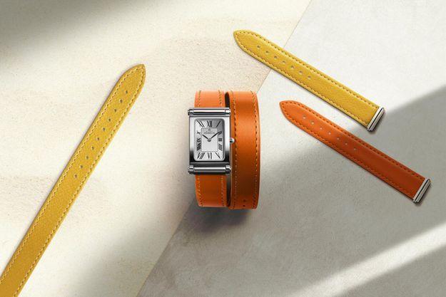 La célèbre collection Antarès à bracelets interchangeables de l'Atelier d'Horlogerie Française Michel Herbelin se pare de nouveaux liens aux couleurs vitaminées.
