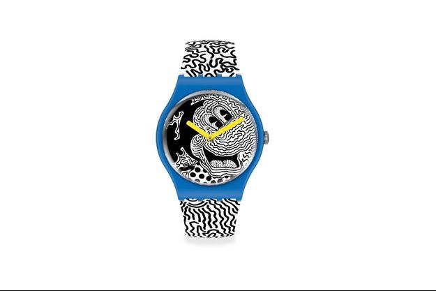 Disney et Keith Haring revisitent les montres Swatch