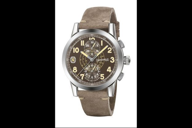 Eberhard & Co. présente « The Brown Helmet »
