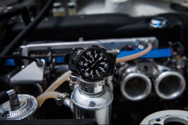La montre « Turbine Sung Kang » de Perrelet.