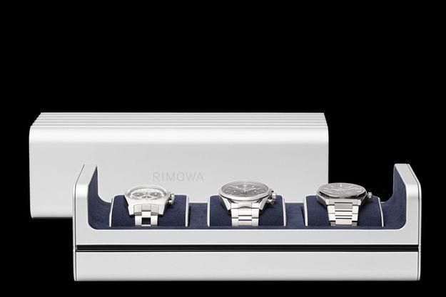 Après deux ans de développement, la marque dévoile l'accessoire de voyage de luxe ultime : le boîtier de montre