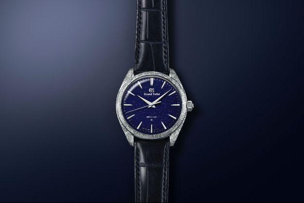 Grand Seiko dévoile une nouvelle montre Spring Drive