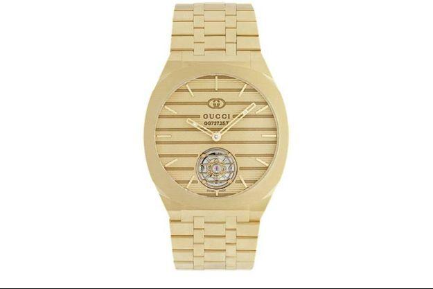 Gucci lance sa collection de Haute Horlogerie