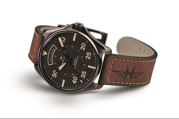 Hamilton présente sa nouvelle montre