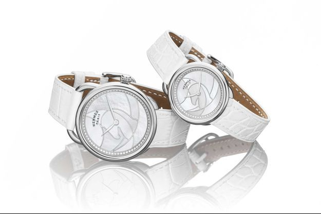 Hermès Horloger : les montres Arceau Cavales entrent en scène