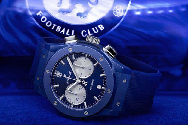 Hublot aux couleurs du football Club de Chelsea