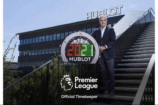 Hublot, chronométreur officiel de la Premier League