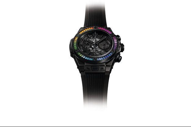 La Big Bang All Black Saphhire Rainbow